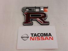 GENUINE Nissan OEM Trunk Emblem Badge R34 Skyline GTR JDM New 84896-AA400