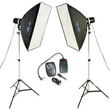 Mettle studioset Boston-studio flash annexe 2x160 ws studio flash lampe
