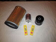 Triumph Bonneville EFI Service Kit Oil Filter Fuel Filter Air Filter Spark Plugs