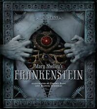 STEAMPUNK: MARY SHELLEY'S FRANKENSTEIN - NEW HARDCOVER BOOK