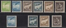 10 Different F-VF OG NH Mint Chile Airmail issued 1934 to 1947 - I Combine S/H