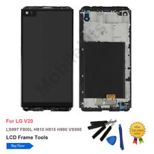 LCD Touch Screen Digitizer Replacement W/Frame For LG V20 F800L H910 H915 +Tools