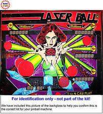1979 Williams Laser Ball Pinball Machine Rubber Ring Kit - aka Lazer Ball