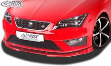 RDX Frontspoiler VARIO-X für SEAT Leon 5F FR + Cupra / Leon 5F SC FR + Cupra
