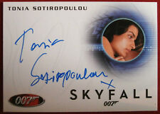 JAMES BOND - SKYFALL - TONIA SOTIROPOULOU as Bond's Lover - Autograph Card A240