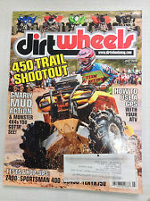 Dirt Wheels Magazine 450 Trail Shootout Z400 Hop Up July 2010 032717nonR