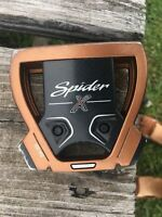 """TaylorMade Spider X Copper/White Putter 35"""" with Headcover Super Stroke Pistol"""