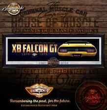 """FALCON XB  """"END OF ERA""""  10MM ART ACRYLIC - XB HARDTOP FALCON YELLOW"""