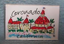 Coronado San Diego California Plastic Magnet, Travel, Souvenir, Refrigerator
