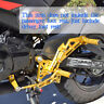 FOR Honda Grom MSX125 2013 2014 2015 2016 CNC Rearsets Foot Pegs Rear set