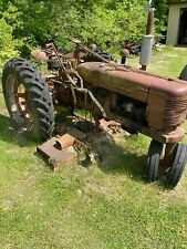1951 International H Tractor With 6 Ft Woods Finish Mower
