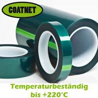 hitzebeständiges Klebeband temperaturbeständig bis +220°C  3mm - 200mm Breite