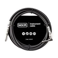MXR Standard Instrument Guitar Cable Lead Right Angle/Straight 10ft (3 metres)