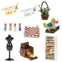1:12 Scale Neu Mini Puppenhaus Miniatur Küche Essen Zubehör Spielzeug~~