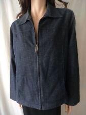Women's Cotton Blend Regular Size Jean Jackets