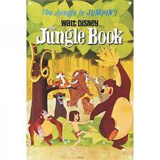 Walt Disney Libro De La Selva Metal Sign. Decoración del hogar cartel vintage retro de película de dibujos animados