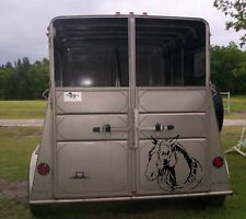 Horse Sticker for Horse Trailer or Truck Window Vinyl Decal Stickers 20x20