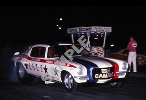 Bruce Larson Camaro USA-1 Funny Car Drag Racing 13x19 Poster Photo 226