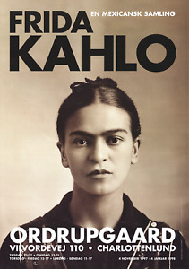 GUILLERMO KAHLO Frida Kahlo (1932) 39.25 x 27.5 Poster 1997 Photography Brown