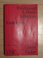 Gentechnik, HG Gassen, Gustav Fischer Verlag, Taschenbuch