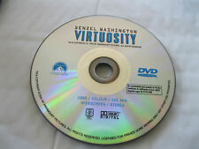 VIRTUOSITY starring Denzel Washington, Russell Crowe, - DISC ONLY  {DVD}