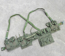 SURPLUS CHINESE TYPE 63 CHEST RIG RIFLE COMBAT WEBBING BANDOLIER GEAR POUCHES
