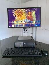 """Dell Optiplex 9020 PC Computer Windows 7 Pro 22"""" Full HD Monitor"""