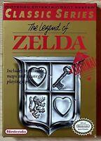 The Legend of Zelda NES Very Rare 1987 CIB EX/NM VGA WATA Ready NTSC ZL-USA-1