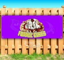 Funnel Cake Advertising Vinyl Banner Flag Sign Many Sizes Available Usa Treats