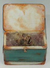 Dollhouse miniature 1/12th scale handcrafted Zombie head in Cooler