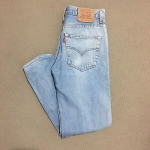 levis 504 W34 L31 Blue Denim Jeans