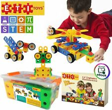 Educational Engineering Toy Blocks Set for Early Preschool STEM Learners