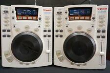 Rare White Vestax CDX-05 Professional Scratch DJ CD Player W/ Effects CDJ