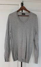 BEAU PULL ZARA GRIS TAILLE L HOMME 42 BASIC