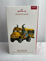 2019 Hallmark Keepsake Ornament - Disney Pixar Cars 3 - Miss Fritter School Bus