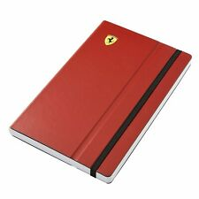 FERRARI F1 MOTORSPORT ENTHUSIAST NOTE BOOK MADE IN ITALY-BRAND NEW!