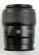 194757 Minolta AF Zoom XI 80-200mm f/4.5-5.6 Lens for Xi Series Cameras As-Is