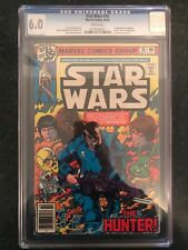 RARE CGC 6.0 COMIC STAR WARS #16 WHITE PAGES