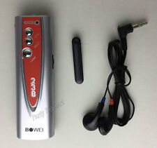 New Portable Mini Pen Torch FM Radio & Earphone Auto Scan Clip Light-AU STOCK