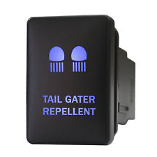 Push switch 9B92B 12V Toyota TAIL GATER REPELLENT dual LED BLUE ON/OFF