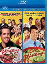NEW BLU RAY   // WAITING + STILL WAITING - DOUBLE FEATURE -- RYAN REYNOLDS,