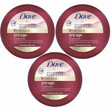 Dove Pro Age Body Butter ( Nourishing Body Care) 250ml x 3 Pack