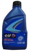 202125 ELF ELF GT DRIVE LT.1 15W40 Benzina/Diesel