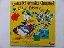 """25 cms 10"""" toutes les grandes chansons de WALT DISNEY Vol 2 ST 3902 F BO FILM"""