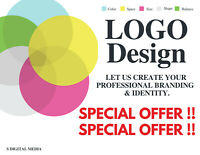 SALE Professional Logo Design, Quality , Reliable, Unlimited Revisions, 24 HRS