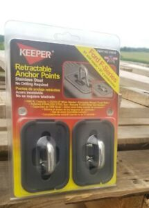 Retractable Anchor Points Model 05658 Keeper  Bull Rings Ford F-Series 97 &up