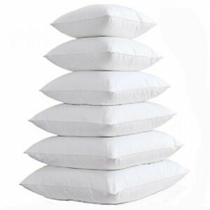 Cushion Pad Hollow Fiber Plump Cushions Inner Fillers Inserts Pads - All Sizes