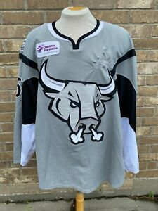CCM San Antonio Rampage Pro Game Used Jersey Size 56 NOREAU Signed 7318