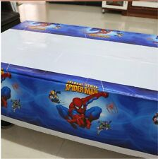180x108cm Disposable PVC Table Cover TABLECLOTH Kids Party Spiderman