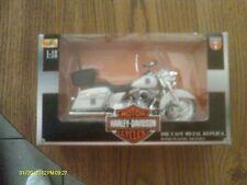 Maisto 1:18 Die-Cast Harley Davidson Police Motor Cycle New